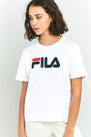 97dbc2bf Fila White Eagle T-shirt | fashion in 2019 | Eagle shirts, T shirt ...