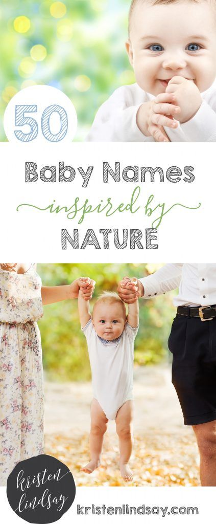 50 Baby names inspired by nature Picking your child\u0027s name can be