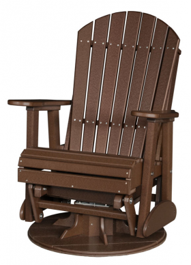 Poly Lawn Furniture :: Gliders :: 2u0027 Adirondack Swivel Glider Free Shipping