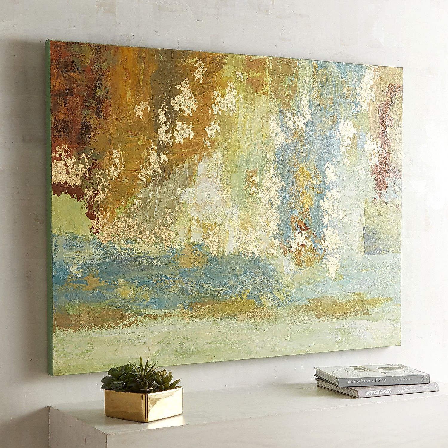 Implicit Abstract Art | Impressionist paintings, Ocean art and Art ...