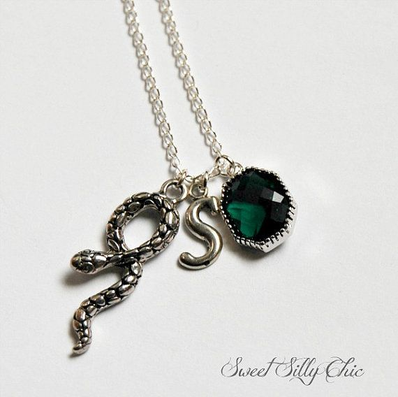 harry potter slytherin jewelry