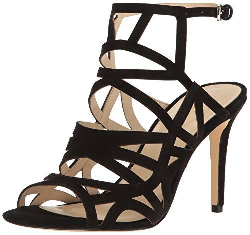 Amazon.com | Nine West Women's Nasira Suede Dress Sandal | Sandals