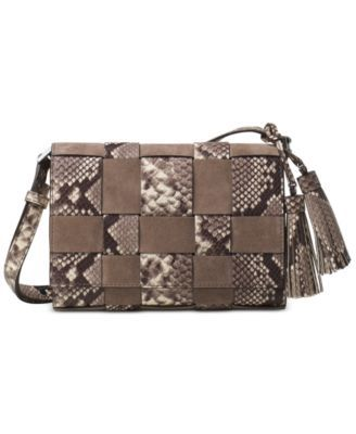 46c9e7dbbc47 MICHAEL Michael Kors Vivian Medium Messenger $223.50 Weave style into your  day-to-day with this lush MICHAEL Michael Kors messenger, featuring a  simple flat ...
