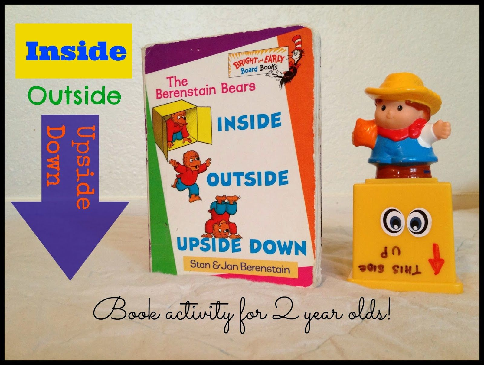 Inside Outside Upside Down Activity To Go With The