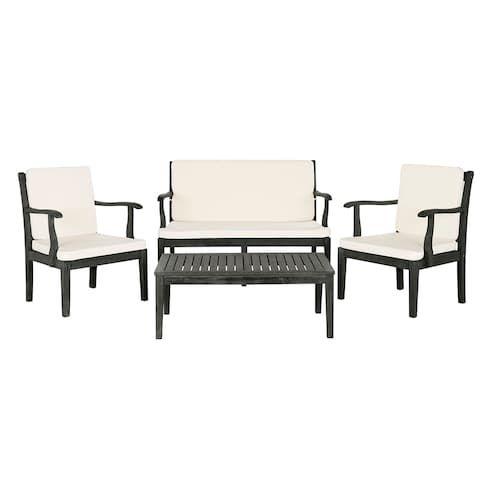Patio Furniture Fresno California: Safavieh Fresno Indoor / Outdoor Loveseat, Chair & Coffee