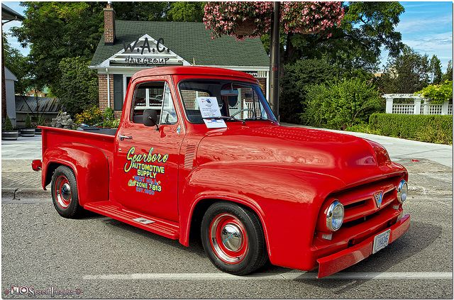 1953 Ford F 100 Vintage Pickup Trucks Ford Trucks Vintage Trucks