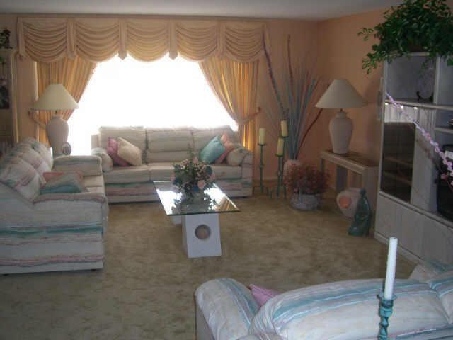 1980s Pastel Colored Furniture Peach Paint Walls Sculpted Carpet Mesa Arizona Home Decor In