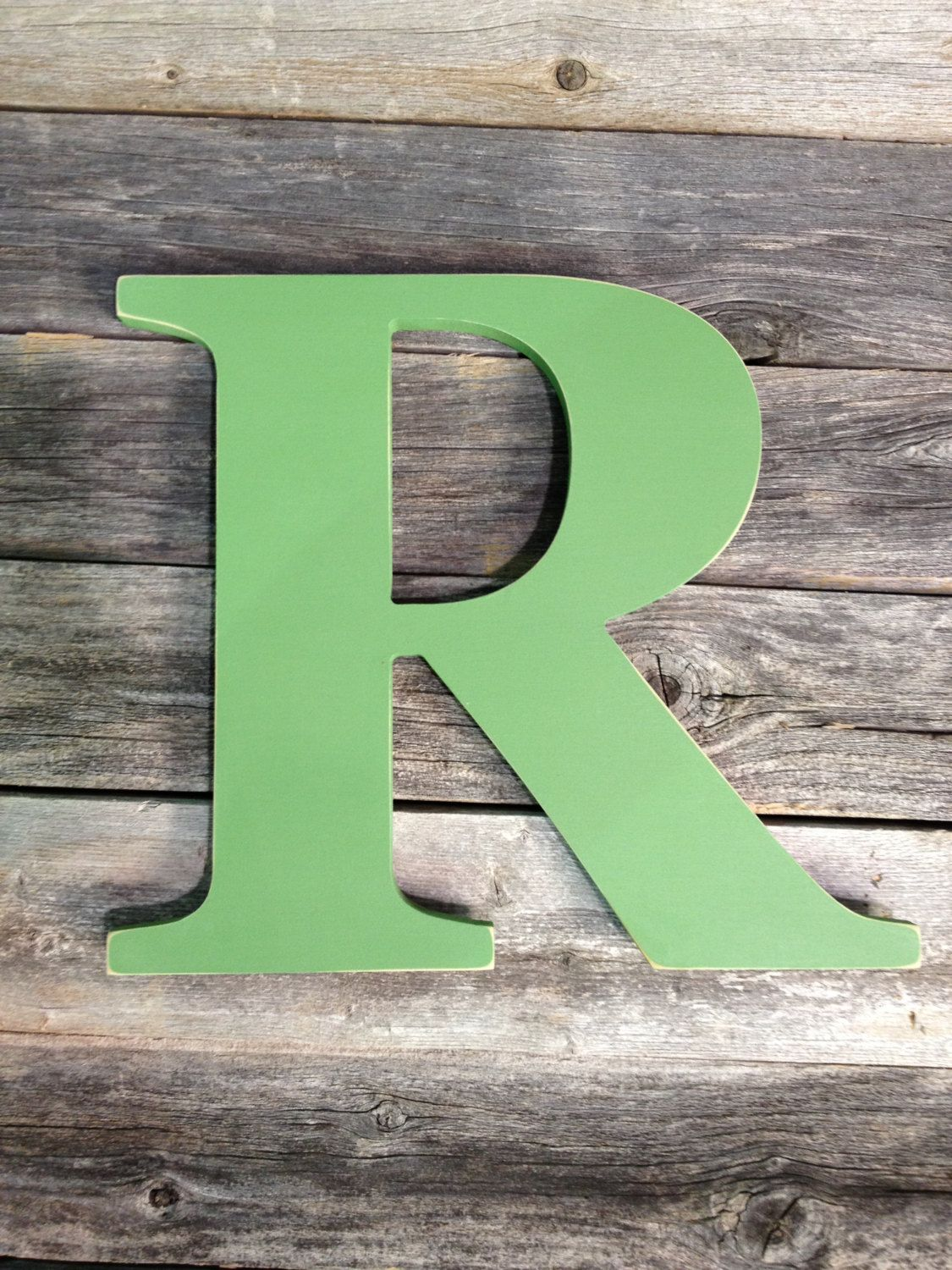 letter r extra large wooden 24 distressed hand painted custom capital alphabet use as guest book for wedding reception or wedding photo by