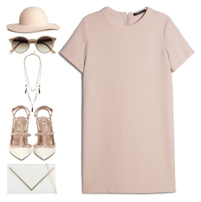 """""""#888"""" by anna-annita ❤ liked on Polyvore featuring Valentino, ALDO, MANGO, H&M, Ray-Ban and J.Crew"""