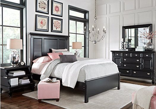 Best Picture Of Belmar Black 5 Pc Queen Bedroom From Queen Bedroom Sets Furniture King Bedroom Sets 400 x 300