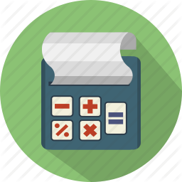 Accounting Billing Business Calculator Finance Machine Icon Icon Accounting Finance