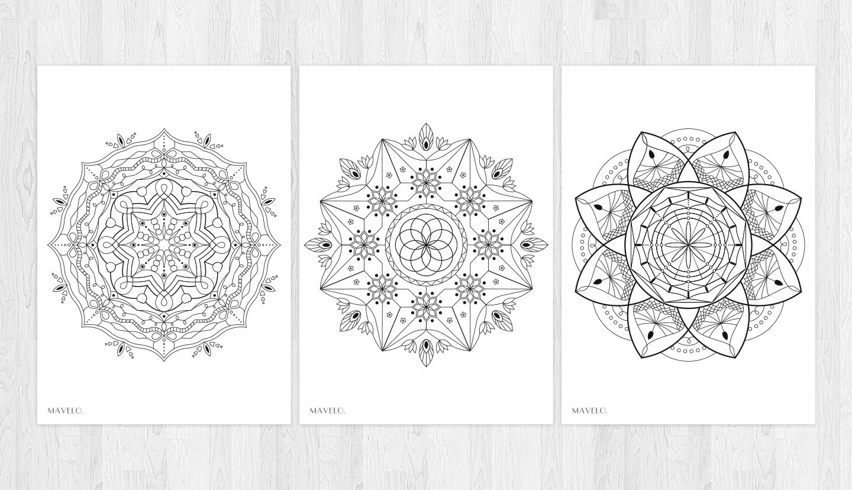 Kolorowanka Dla Doroslych Do Pobrania Mandala Mavelo Free Printables Cards Printables