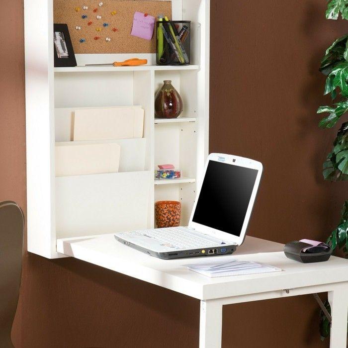 Le Bureau Pliable Est Fait Pour Faciliter Votre Vie Bureau Mural Rabattable Bureau Pliable Bureau Mural