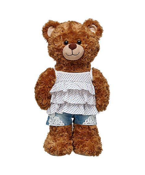 Ruffle Tank Top Shorts Outfit 2 Pc Build A Bear Bears Short