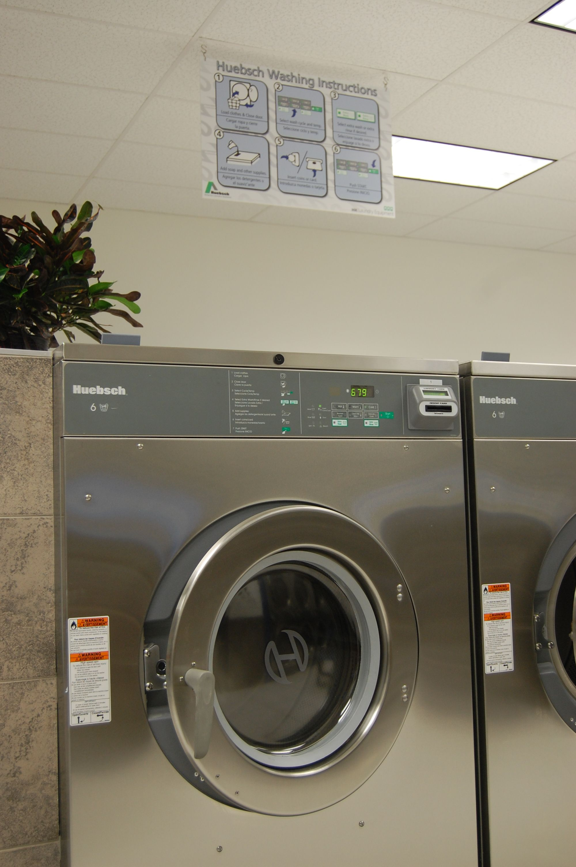 Super Clean Laundromat Huge Commercial Washers Commercial