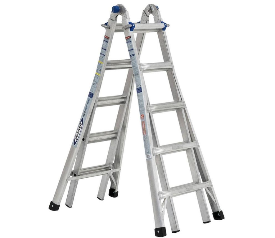 Werner Telescoping Ladder 22 Ft 375 Lbs Capacity Only 119 After