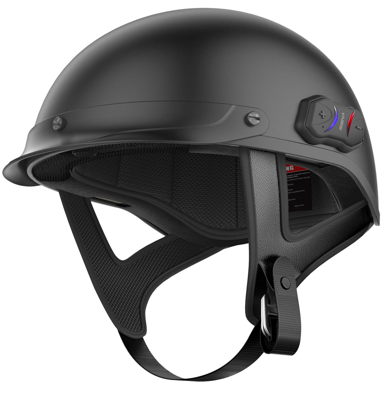 Sena Cavalry Helmet Bluetooth 4 1 900m Intercom Dot Ride Connected Voice Prompts Mores Motorcycle Helmets Half Half Helmets Bluetooth Motorcycle Helmet