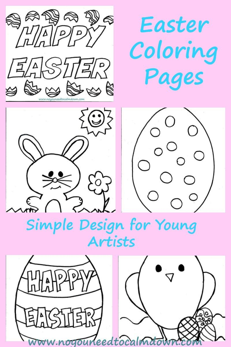 Easter Coloring Pages for Kids - Free Printables