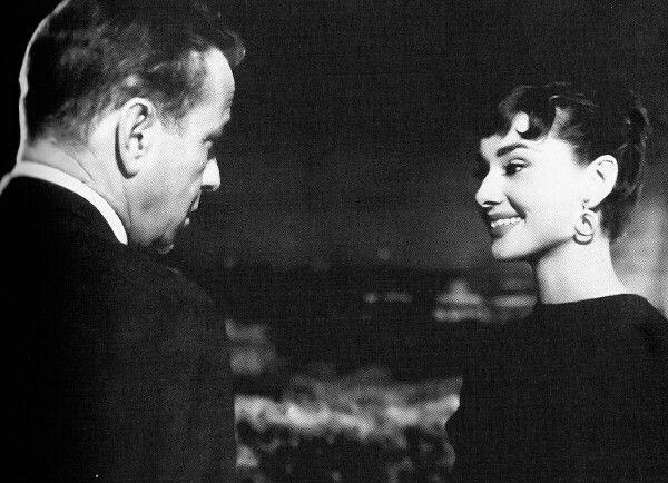 Audrey Hepburn & Humphrey Bogart