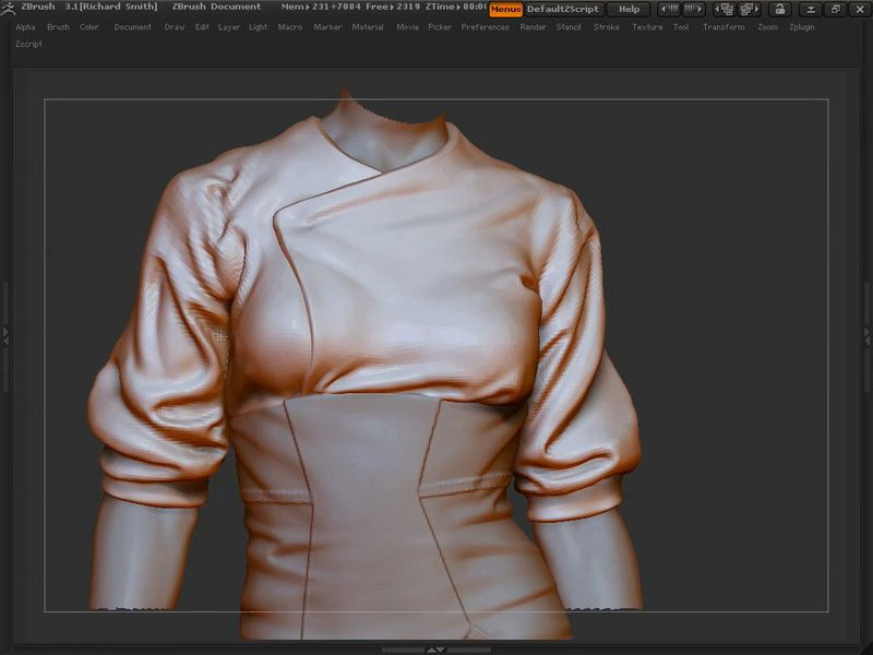 The Gnomon Workshop - Sculpting Clothing ZBrush Techniques with ...
