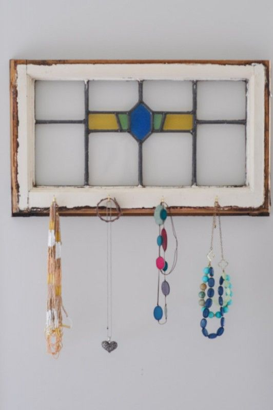 A New Life For A Stained Glass Window Glass jewelry Glass and Craft