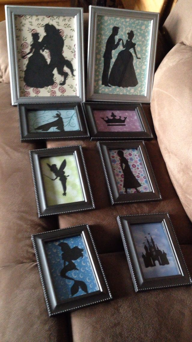 The 25 best diy disney decorations ideas on pinterest for Decorate your own picture frame craft