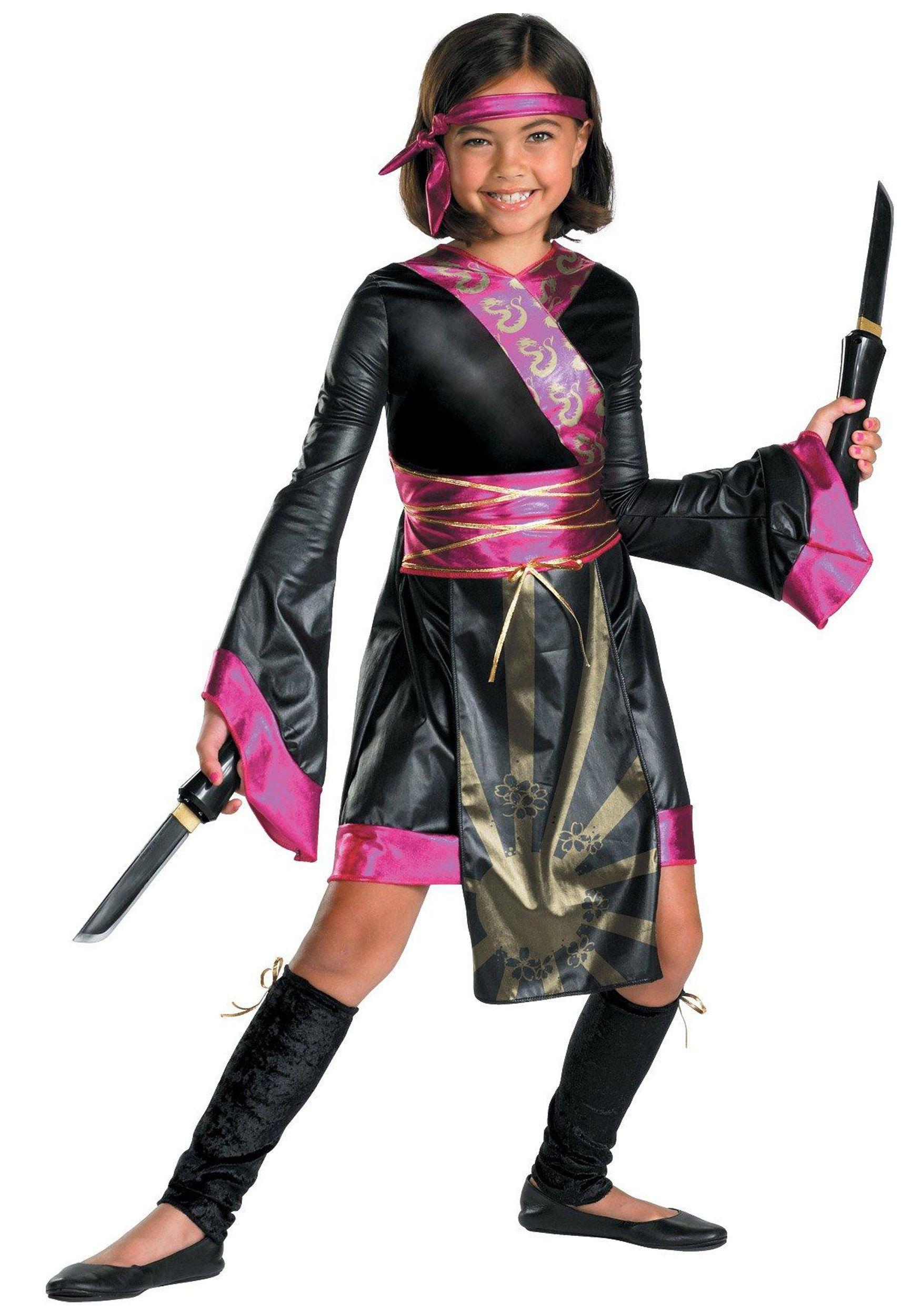 Girls Lil Dragon Ninja Costume | Dragon ninja, Costumes and ...