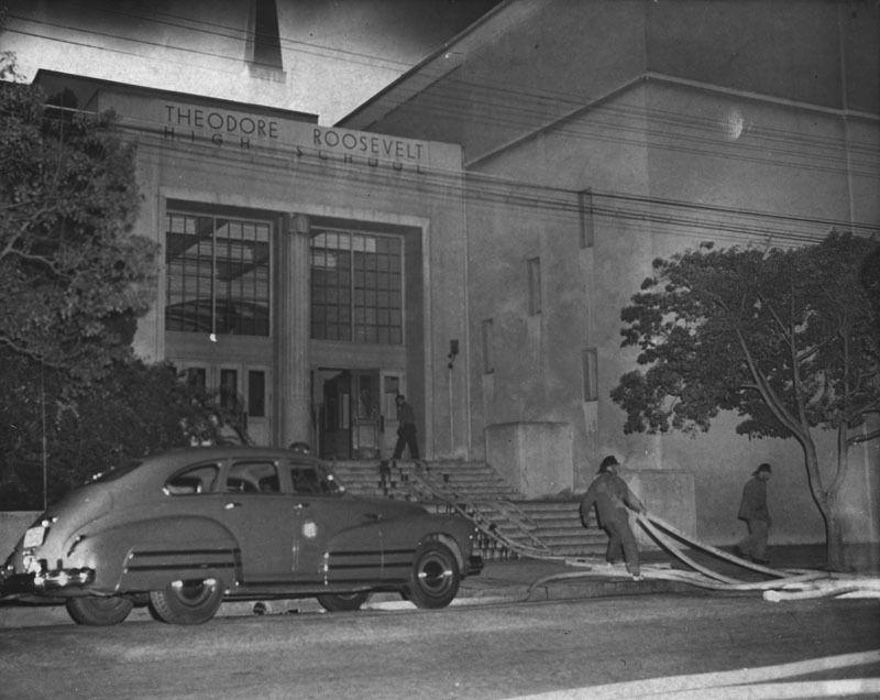 Roosevelt High School 1949 East Los Angeles Vintage