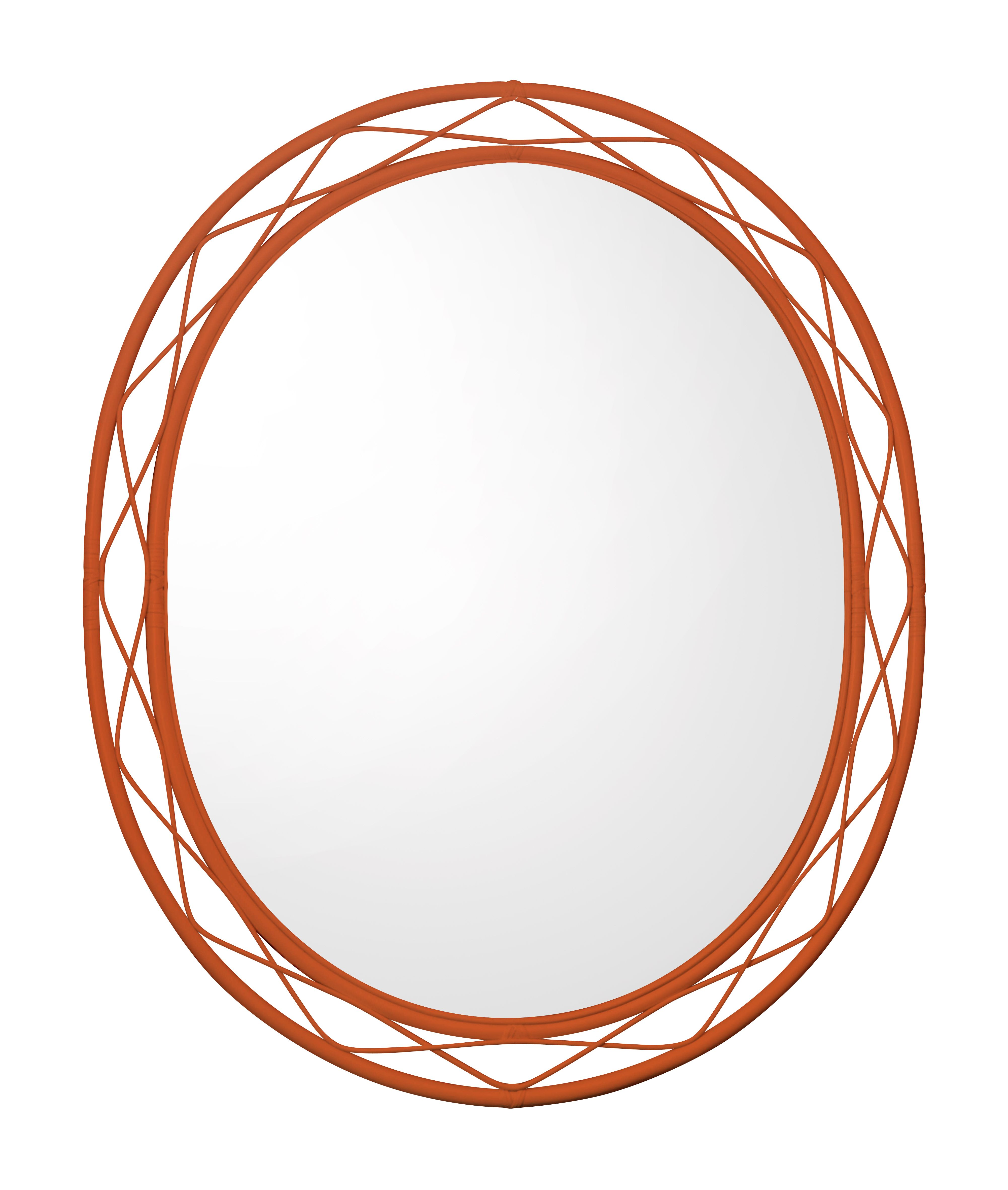 The New Lacy Mirror Painted In Paprika. Hand Woven In Soaneu0027s  Leicestershire Workshop, This Design Ideas