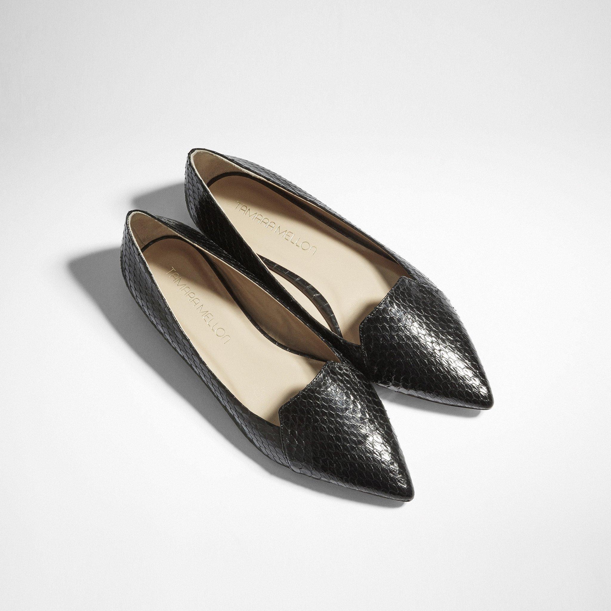 Tamara Mellon Grace Pointed-Toe Flats cheap sale genuine Inexpensive for sale 1Fzz90r