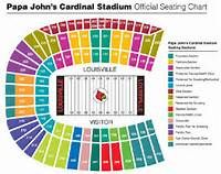 Detailed Seating Chart Papa John S Cardinal Stadium Saferbrowser Yahoo Image Search Res Louisville Cardinals Football Louisville Cardinals Cardinals Football