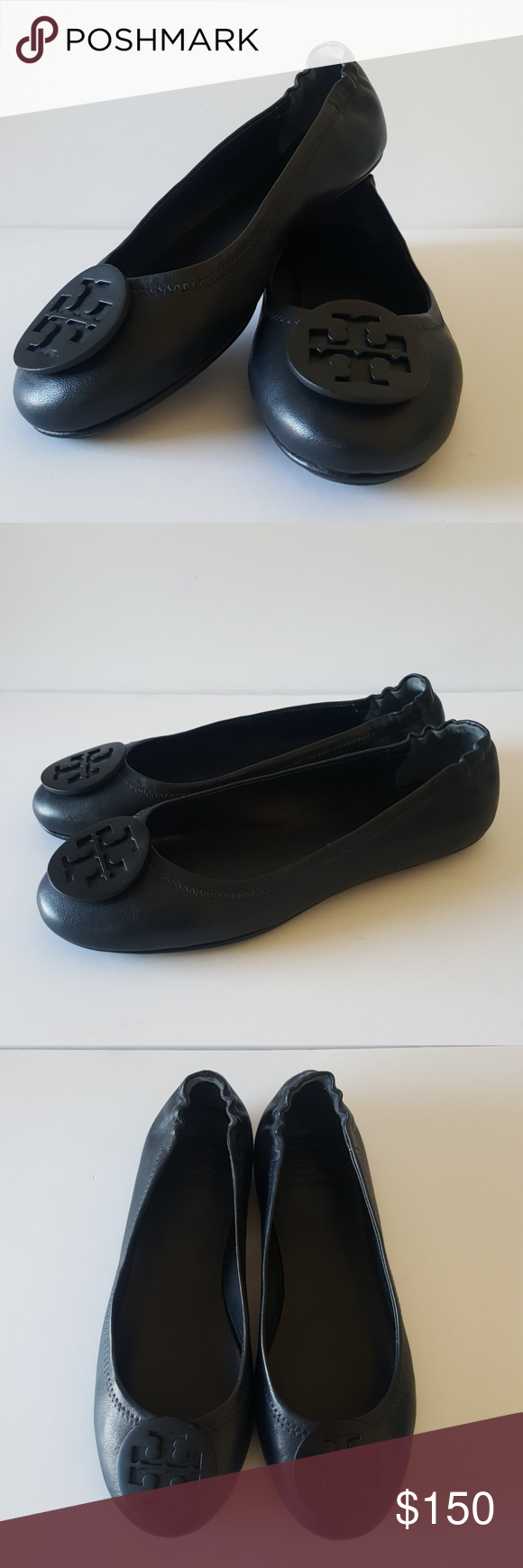 65e9d4343 I just added this listing on Poshmark  Tory Burch Minnie Travel Ballet Flats.   shopmycloset  poshmark  fashion  shopping  style  forsale  Tory Burch   Shoes