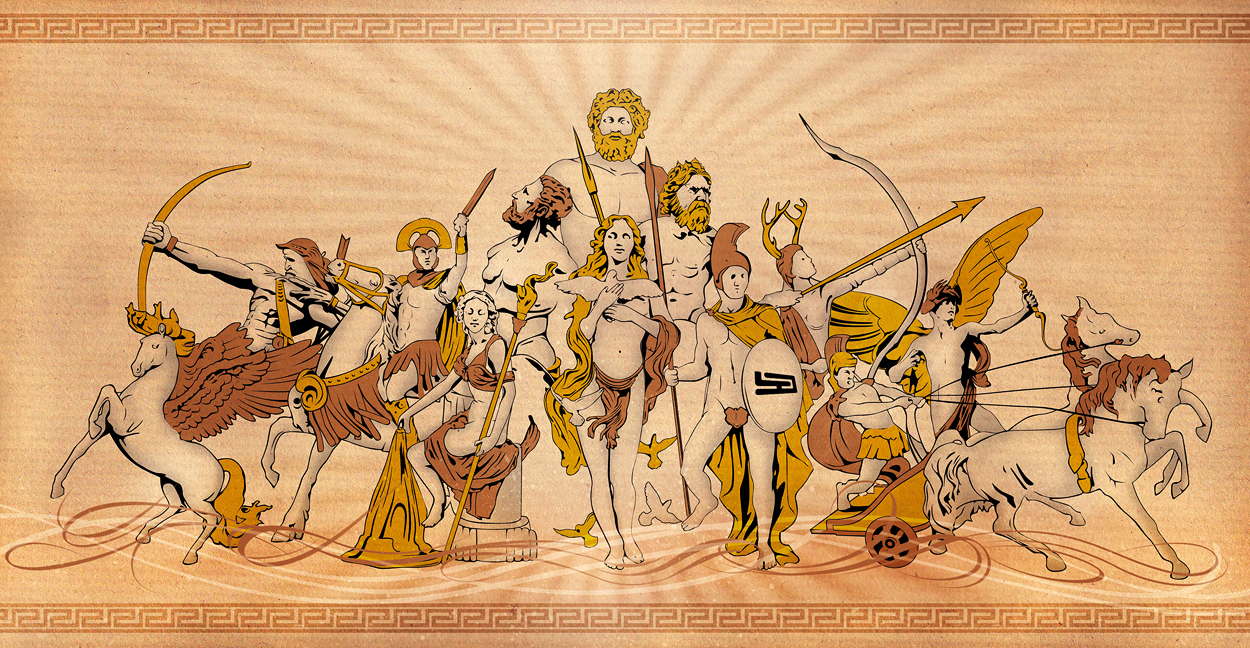 Greek And Roman Mythological Figures From W3 By Trivto On Deviantart