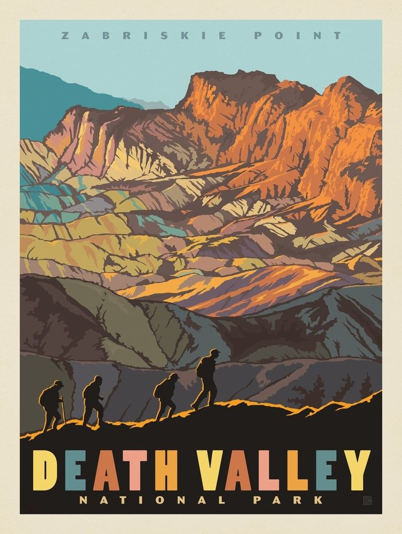 Anderson Design Group 61 American National Parks Death