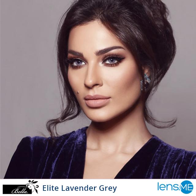 Bella Elite Lavender Gray 2 Lenses In 2020 Hair Beauty Beauty Face Dark Hair