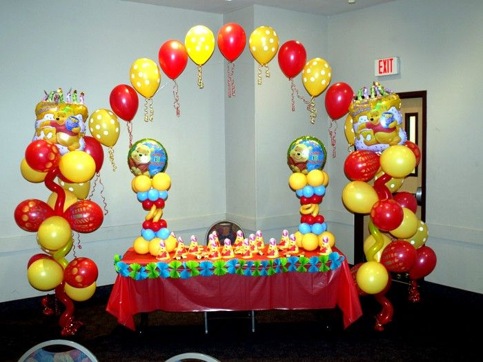 Winnie The Pooh Party Decoration Ideas Beanstalk