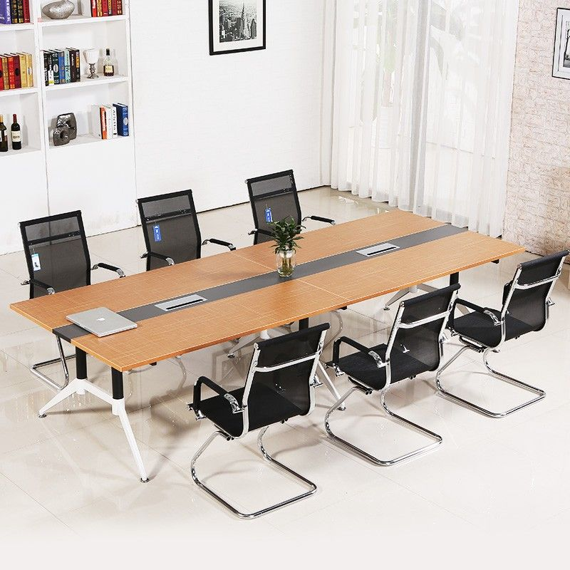 office meeting room furniture. Factory Direct Sale Modern Conference Room Furniture Melamine Top Office Meeting Table