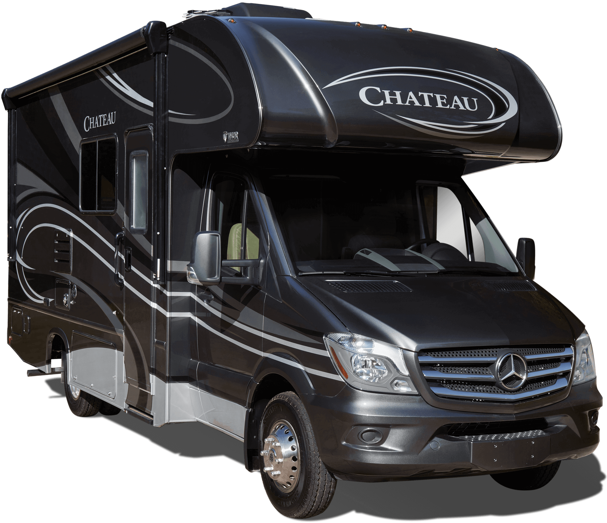 Built On The Easy-to-drive Mercedes Benz® Chassis, The