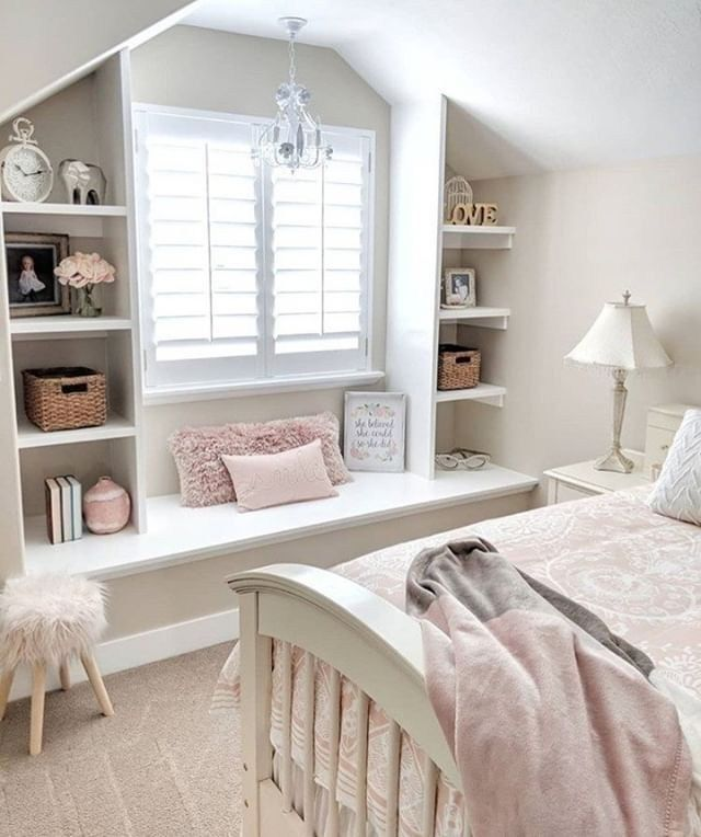 37 girly and pinky bedroom ideas decorating for you copy 3 | Justaddblog.com #girlsbedroom