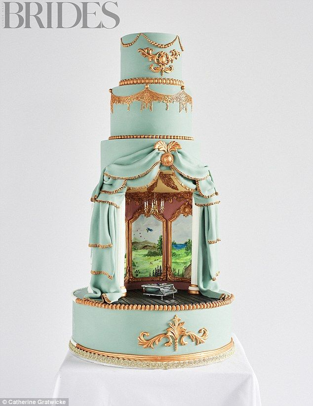 The world s most amazing wedding cakes revealed   Food Heaven     Your Venue In A Cake By Tier By Tier      1 275  serves 170   tierbytier co uk