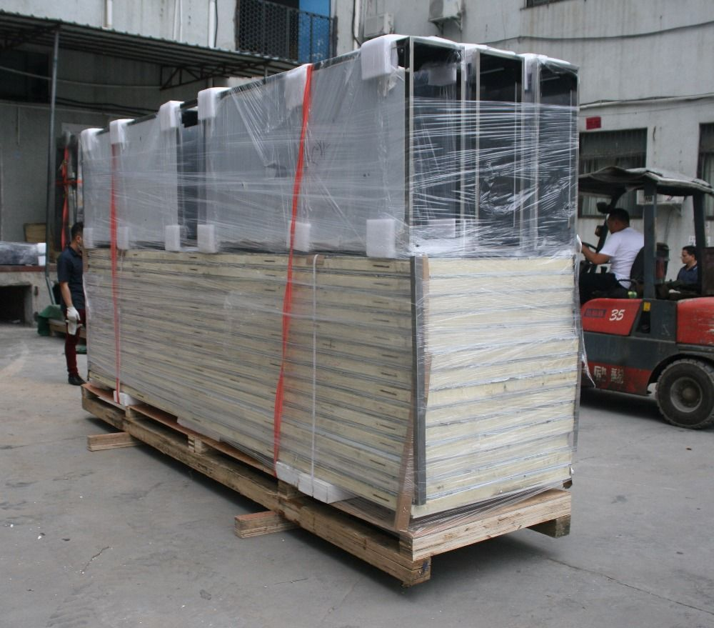 Water cooling walk in stability chambers stainless steel