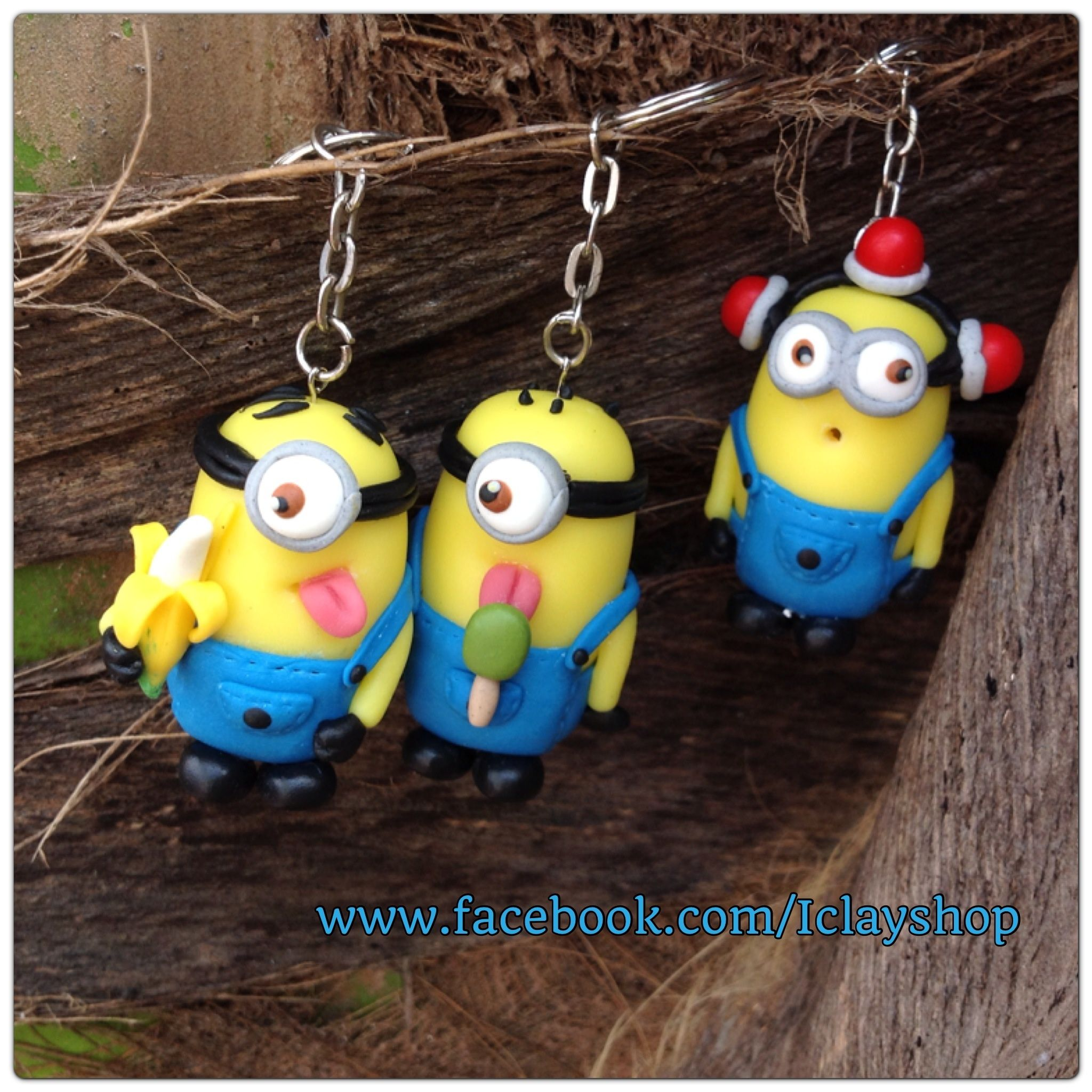 polymer clay minion keychain fimo pinterest fimo fimo schmuck und knete. Black Bedroom Furniture Sets. Home Design Ideas