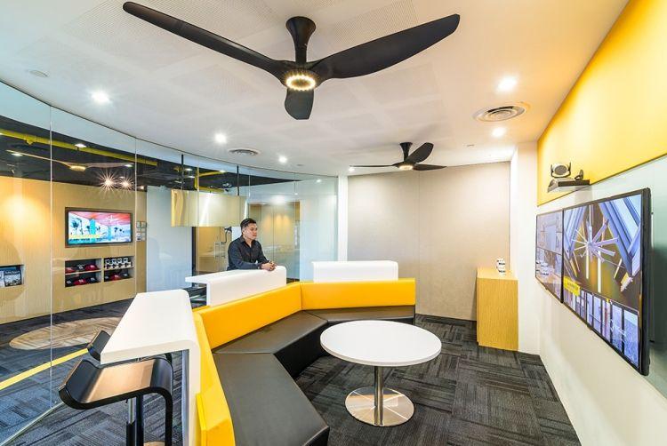 Big Ass Fan Office Design