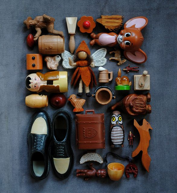 brown dolls + toys by bricolagelife, via Flickr