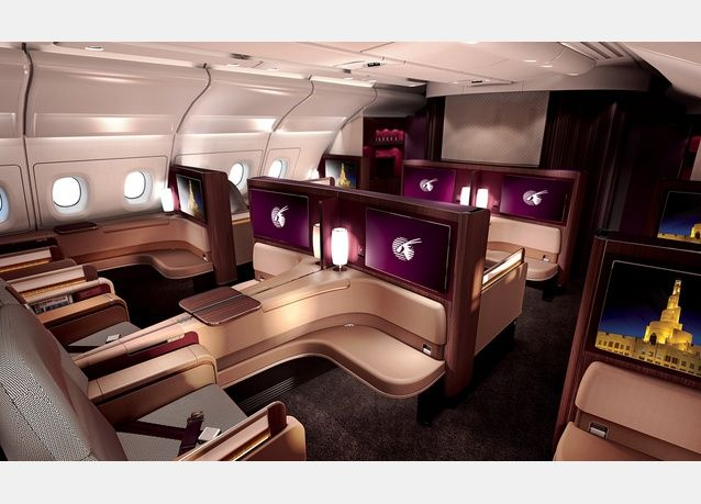 Qatar Airways Airbus A380 800 First Class First Class Seats