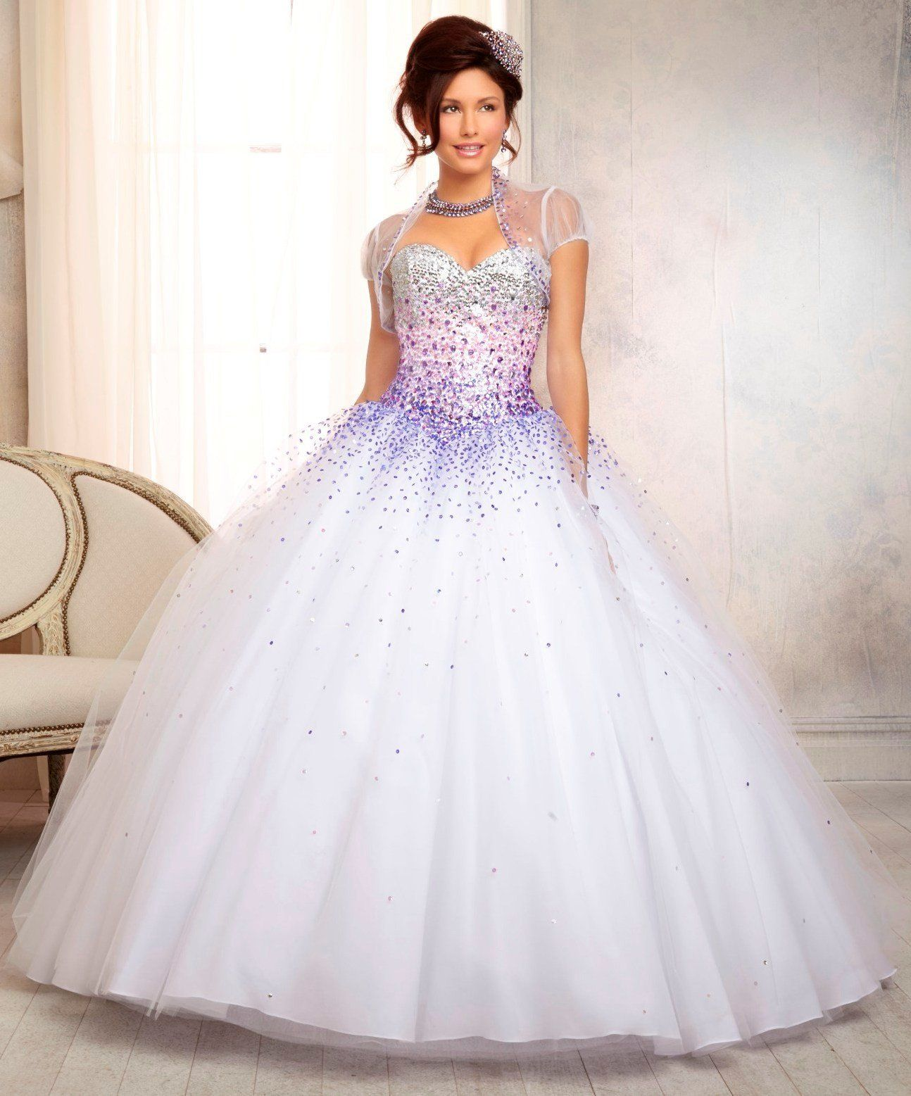 Mori Lee Quinceanera Dress 88086