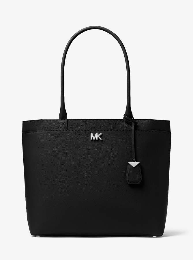 f27865c0b02f MICHAEL Michael Kors Maddie Large Crossgrain Leather Tote