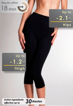 Slimming Capri (w/Caffeine & Shea Butter) - Get immediate slimming ...