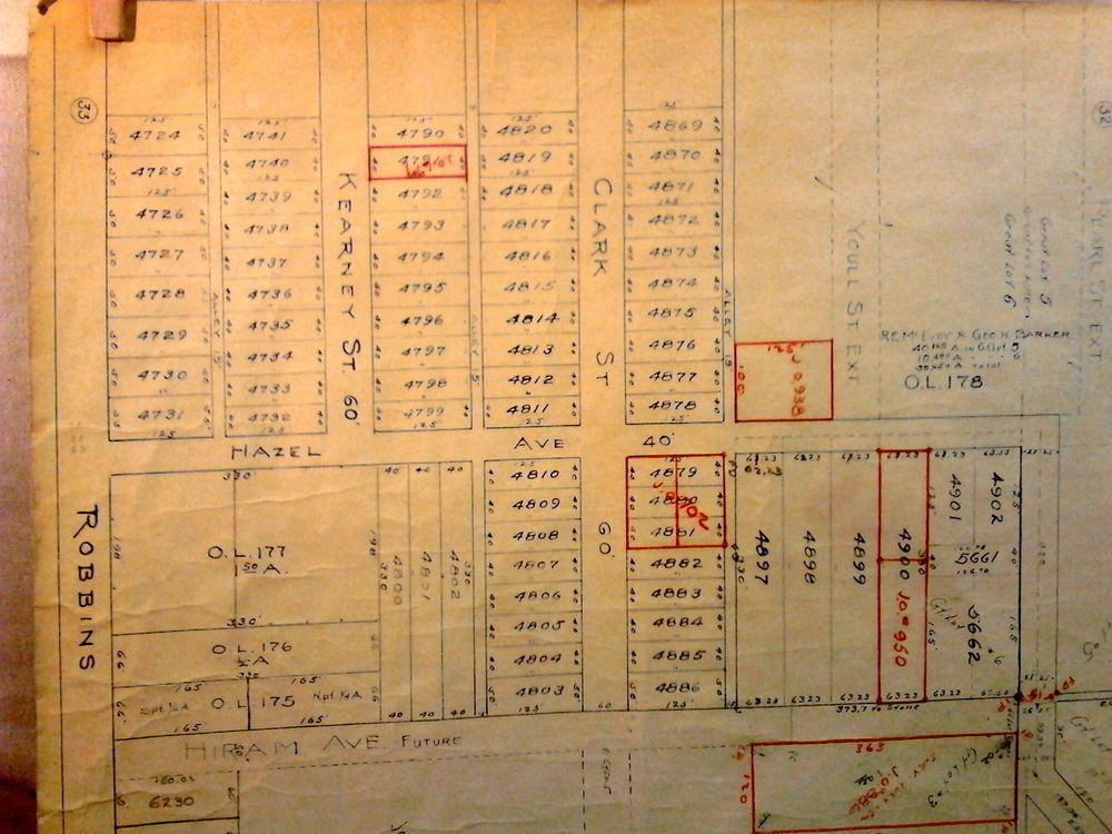 Vtg architect blueprint land housing development ohio coolidge vtg architect blueprint land housing development ohio coolidge carnegie avenues malvernweather Gallery