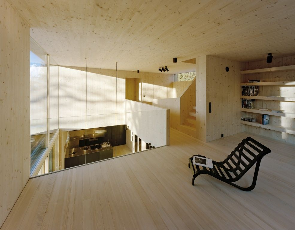 Cross Laminated Timber By Stora Enso In Sistrans Austria